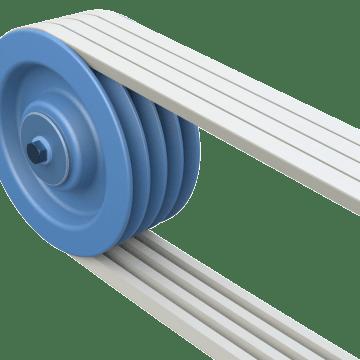 Multigroove V-Belt Pulleys
