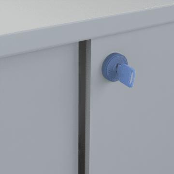 Push Locks for Sliding Cabinet Doors