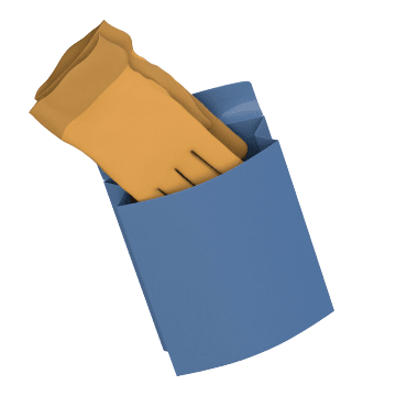 Clip-On Glove Cases & Bags