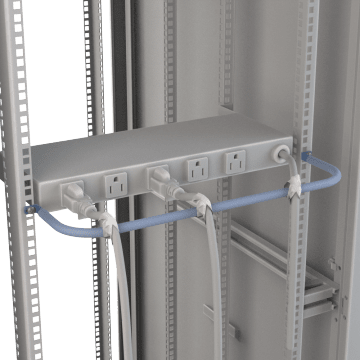 Network Rack Strain Relief Bars