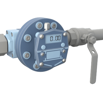 Low Flow Oval Gear Flowmeters