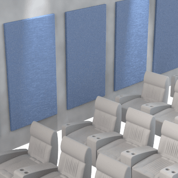 Acoustic Insulating Wall & Ceiling Panels