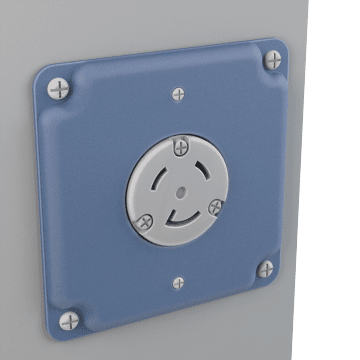 Round Receptacle Wall Plates