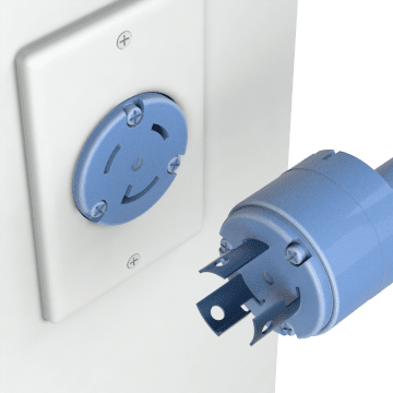 Turn-Locking Plugs, Connectors, & Receptacles