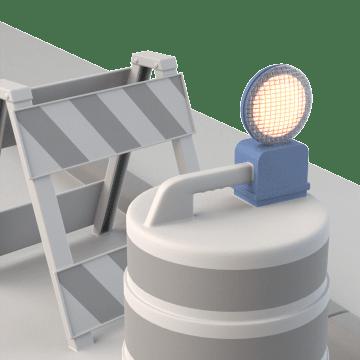 Barricade Lights