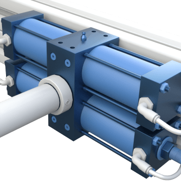 Rack-and-Pinion Rotary Actuators