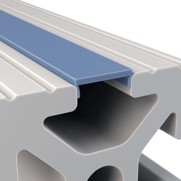 Slot Covers & End Caps for Structural Framing Extrusions