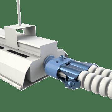 Flexible Conduit Double-Barrel Connectors