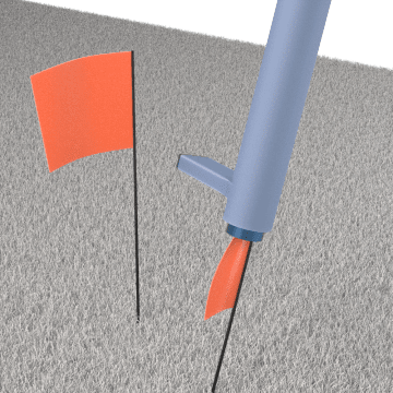 Ground Marking Flags & Accessories