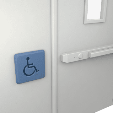 Accessibility Release Buttons