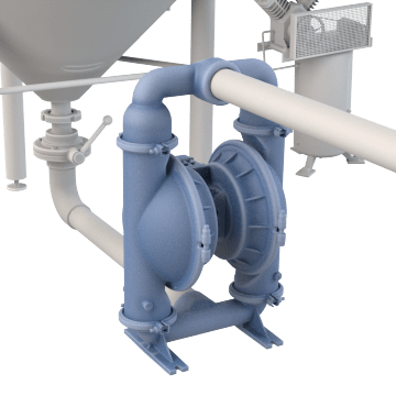 Food Grade Air-Operated Double Diaphragm Pumps