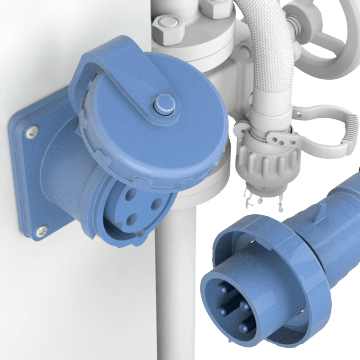 Pin-&-Sleeve Plugs, Connectors, & Receptacles
