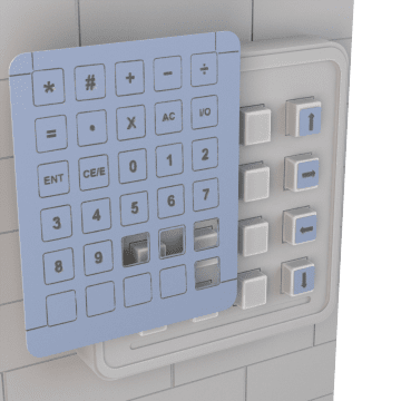 Facility Access Control Keypad Accessories
