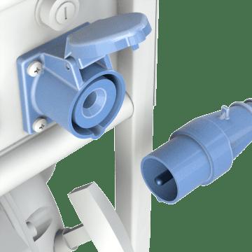 Single-Pole Plugs, Connectors & Receptacles