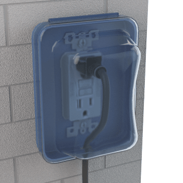 Weatherproof Covers for In-Use Electrical Boxes