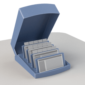Business Card Holders & Refills