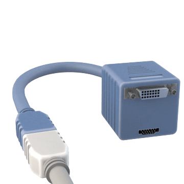 Computer Cable Splitters