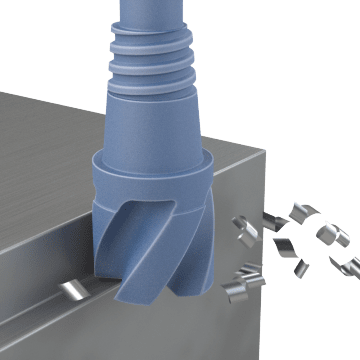 Exchangeable Head End Mills