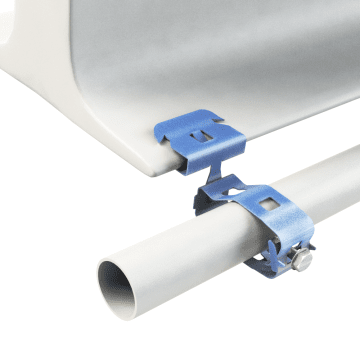 Push-On Conduit-To-Beam Flange Clamps