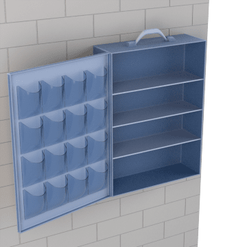 Empty First Aid Cabinets