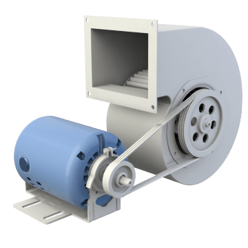 Belt Drive HVAC Motors