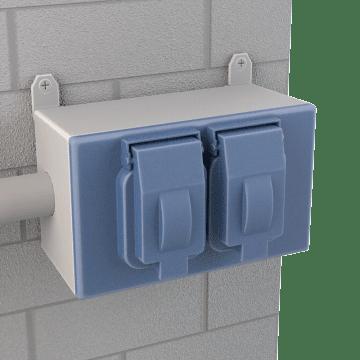 Weatherproof Self-Closing Electrical Box Covers