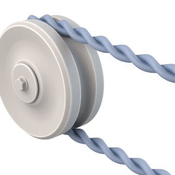 Twisted O-Ring Belts