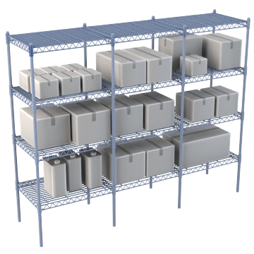 Standard Duty Wire Shelving & Accessories