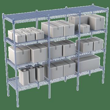 Standard Duty Wire Shelving Units