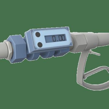 Digital Display Turbine Flowmeters