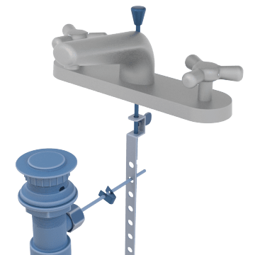 Pop-up Drain Assemblies & Lift Rods