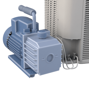 HVAC Refrigerant Evacuation Pumps