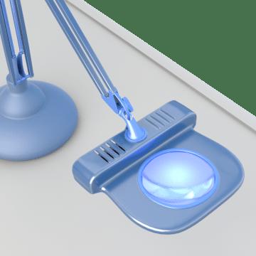 Magnifier Task Lights