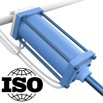 ISO Tie-Rod Air Cylinders