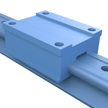 Profile Rail Sleeve Bearing Linear Guides