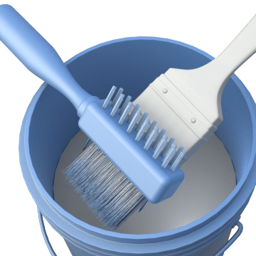 Paint Brush & Roller Cleaning Tools
