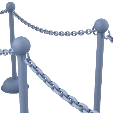 Chain & Rope Barriers