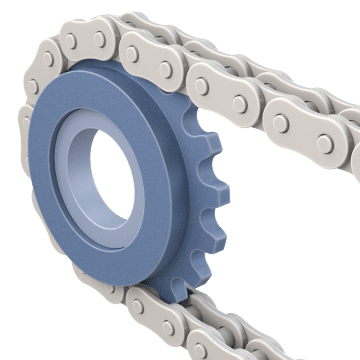 Single-Strand Sprocket Idlers