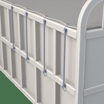 Abrasion-Resistant Tie-Down Cords