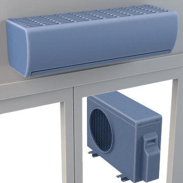 Ductless Split Air Conditioner & Heat Pump Systems