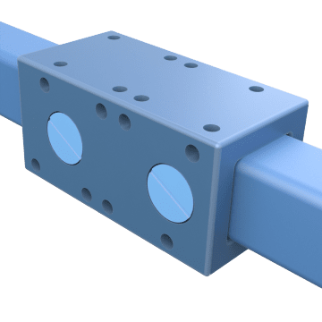 Square Rail Sleeve Bearing Linear Guides