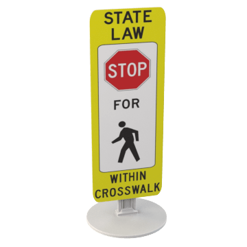 Pedestrian & Crosswalk Signs