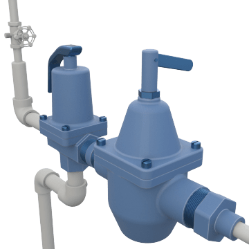 Combination Fill & Relief Valves