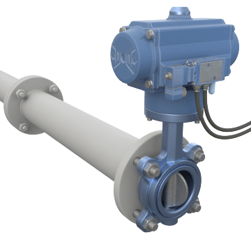 Air-Operated Butterfly Valves