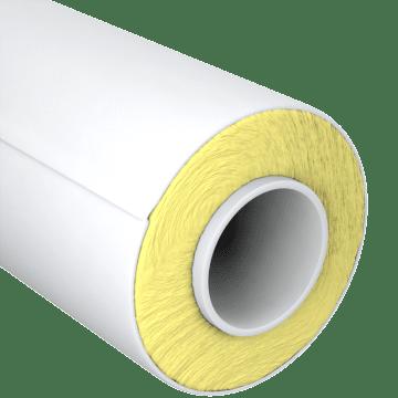 High-Temperature Fiberglass Pipe Insulation