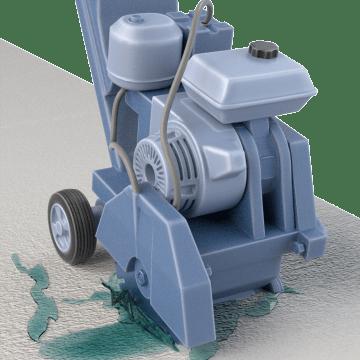Gas-Powered Concrete, Masonry, & Tile Saws