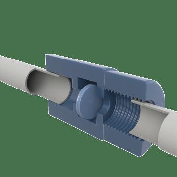Plastic Self-Sealing Valves