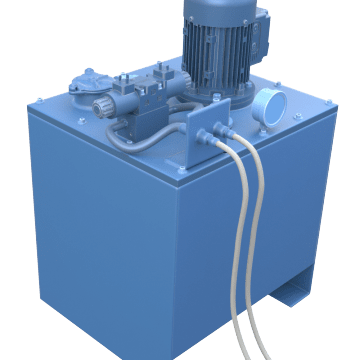 AC Power Units for Hydraulic Systems