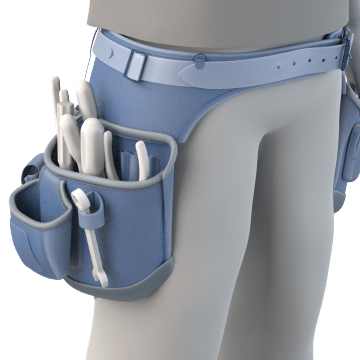 Tool Belts with Pouches