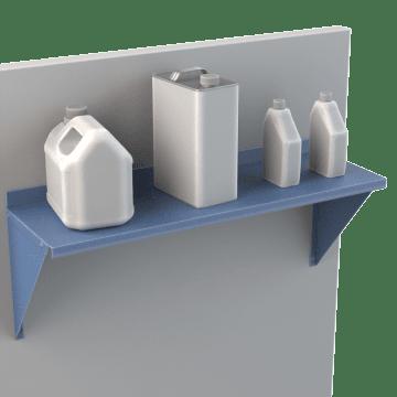Wall-Mount Shelving Kits
